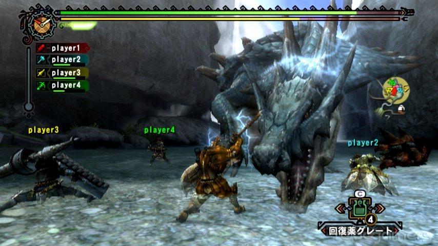 Monster Hunter Tri impresiones cuatro wii revogamers