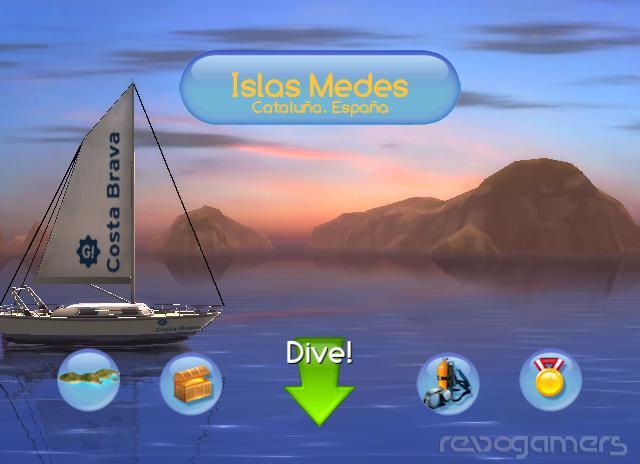 dive: the medes island secret screenshot wiiware revogamers