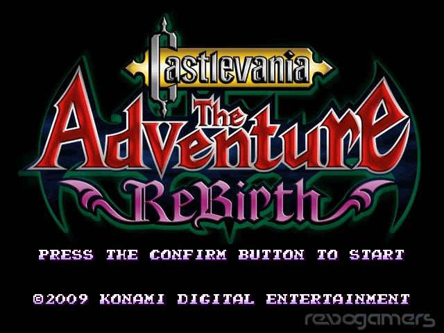 Castlevania the adventure rebirth review wii revogamers