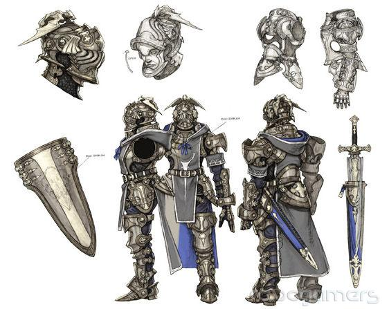 knight caballero the last story wii revogamers
