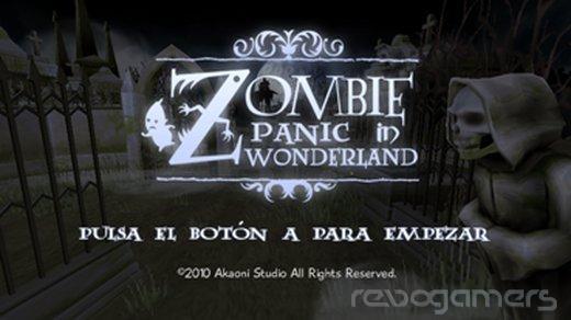 zombie panic in wonderland analisis wii ware revogamers