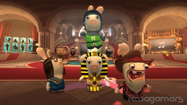 Raving Rabbids: Regreso al Pasado - Análisis Wii