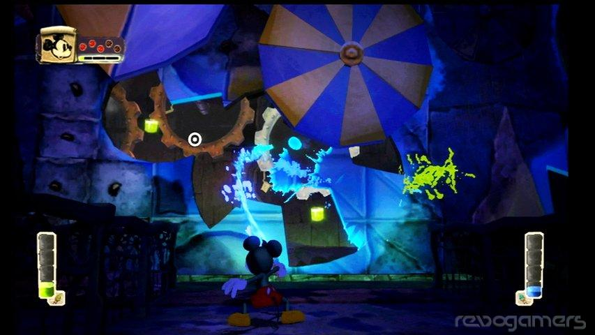 Disney Epic Mickey usa Havok y Gamebryo