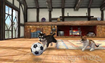 Nintendogs + Cats - Avances 3DS