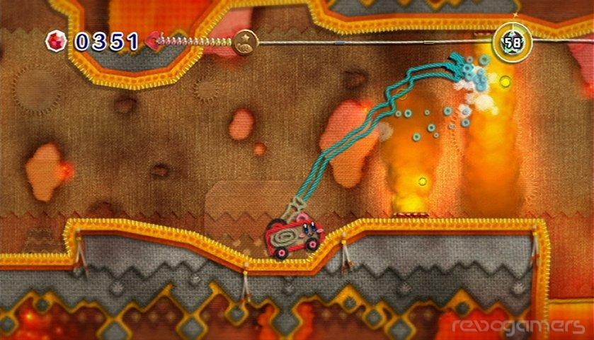 Kirby's Epic Yarn - Análisis Wii