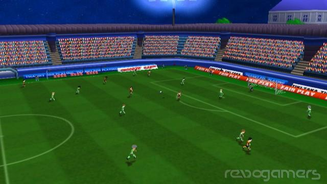 impresiones football up wiiware