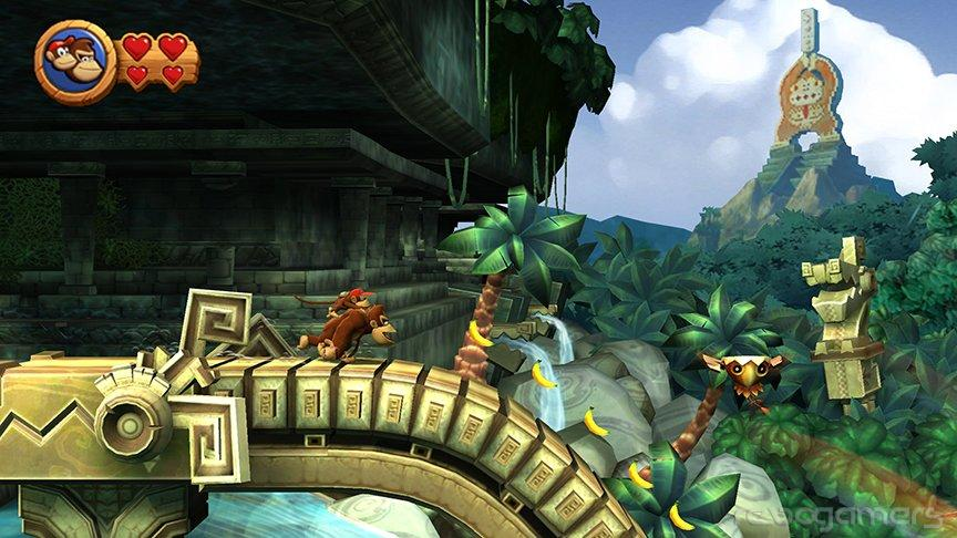Donkey Kong Country Returns - Análisis Wii