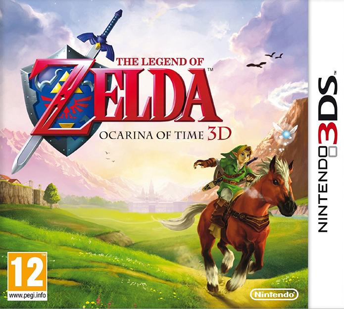 Zelda Ocarina of Time 3DS