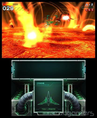 Avance Starfox 64 3D Nintendo 3DS