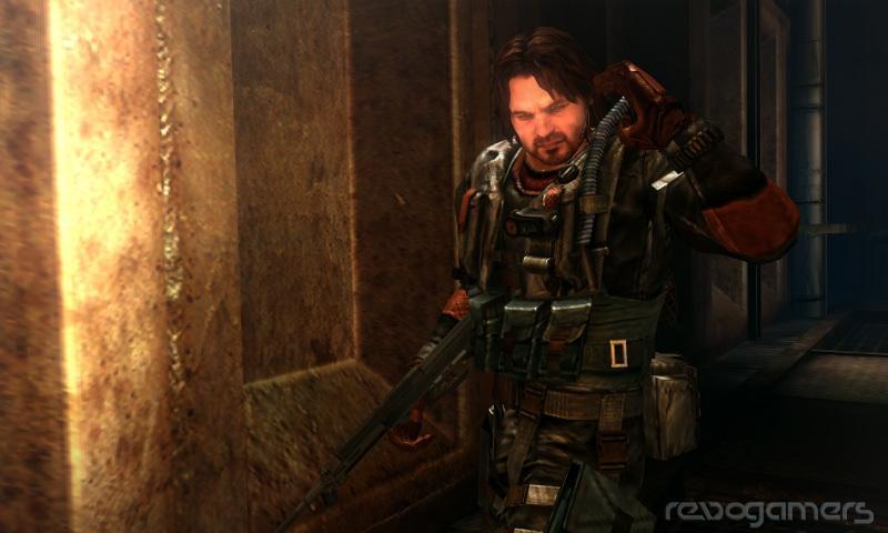 Parker Luciani en Resident Evil: Revelations