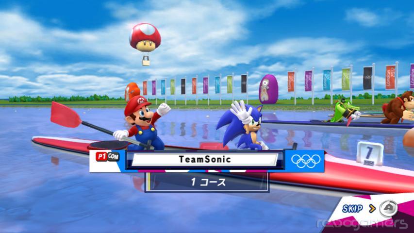 Mario y Sonic en los Juegos Olímpicos de Londres - Wii Avances