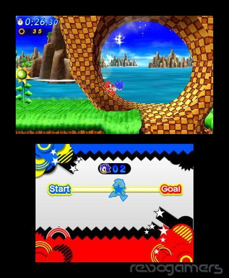 imagenes multijugador online sonic generations 3ds