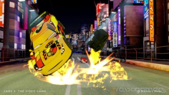 Análisis Cars 2 Wii