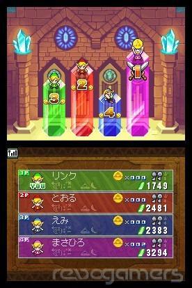 Análisis Zelda Four Swrods