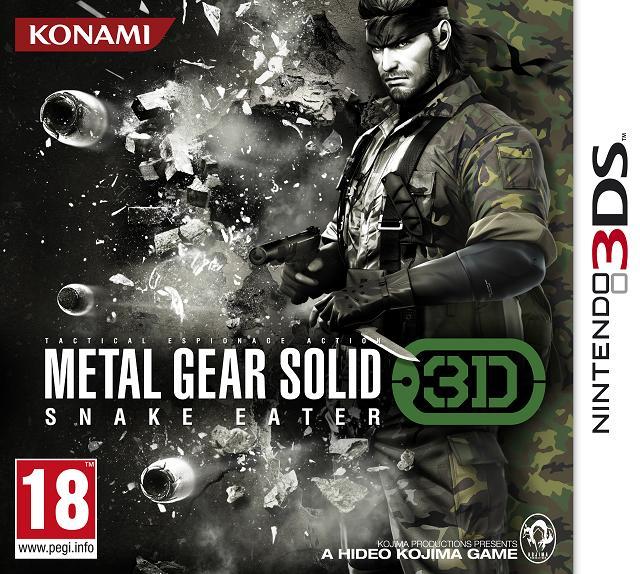 fecha lanzamiento metal gear solid snake eater 3d marzo nintendo 3ds