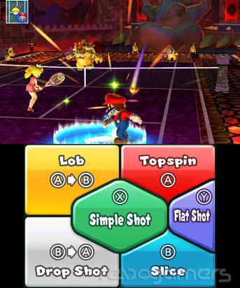 impresiones mario tennis open nintendo 3ds