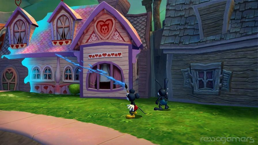 impresiones disney's epic Mickey 2 el poder de dos heroes wii