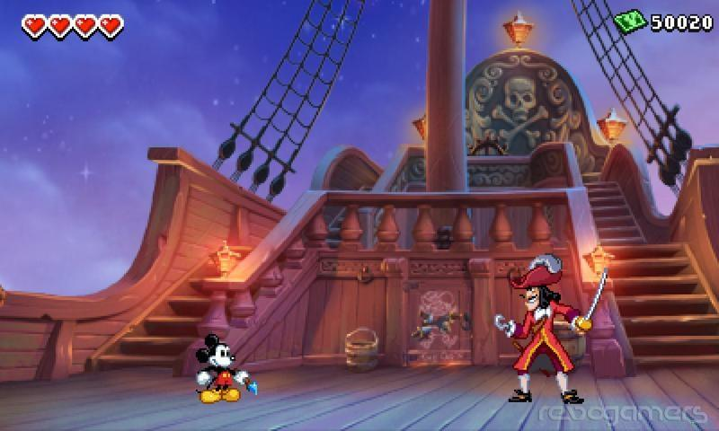 Epic Mickey Mundo Misterioso 3DS