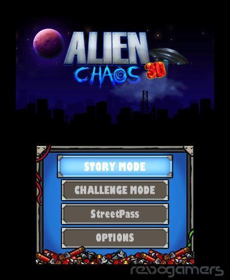 alien chaos 3d nintendo 3ds eshop