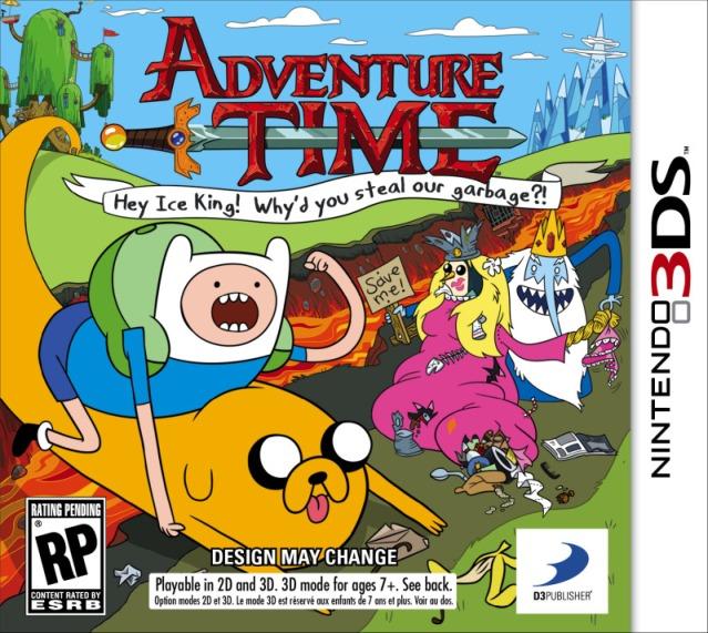Hora de Aventura DS/3DS, Primeras Imágenes