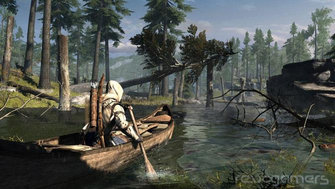 Entrevista assassin´s creed III wii U