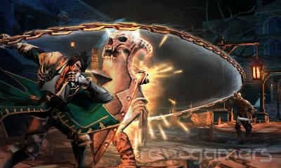 castlevania: lords of shadow mirror of fate ninendo 3ds