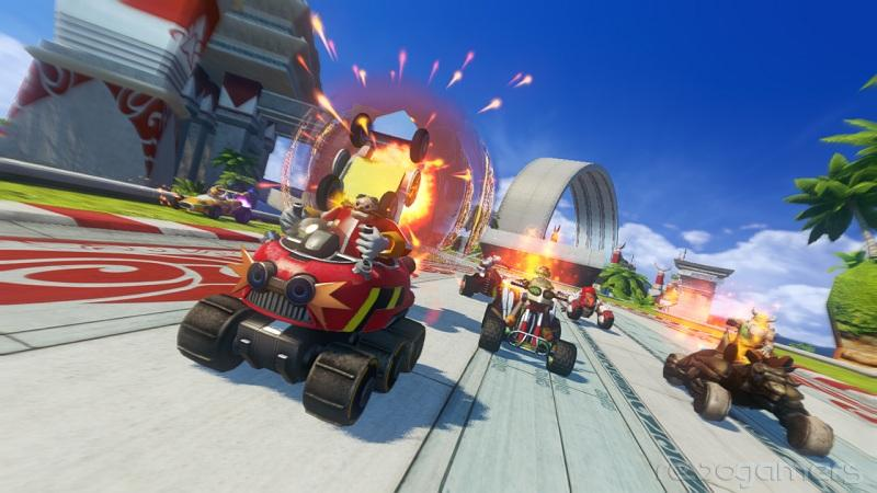 Sonic & All-Stars Racing Wii U