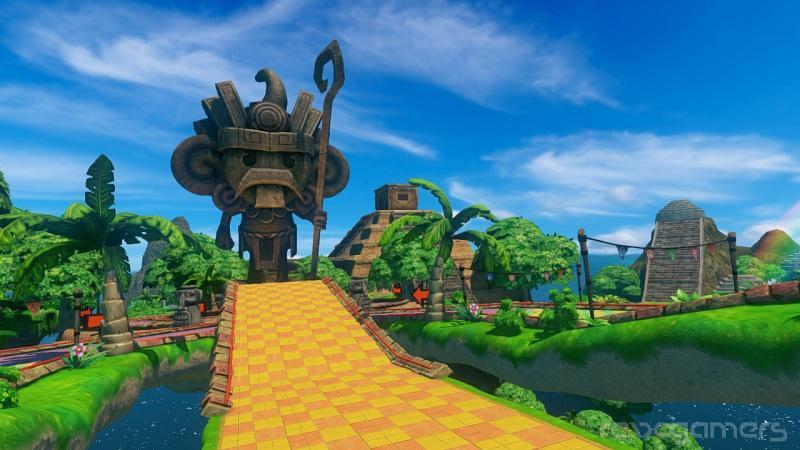 Avance sonic & All stars racing Wii U