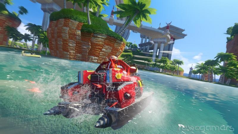 avance Sonic & All Stars Racing transformed Wii U