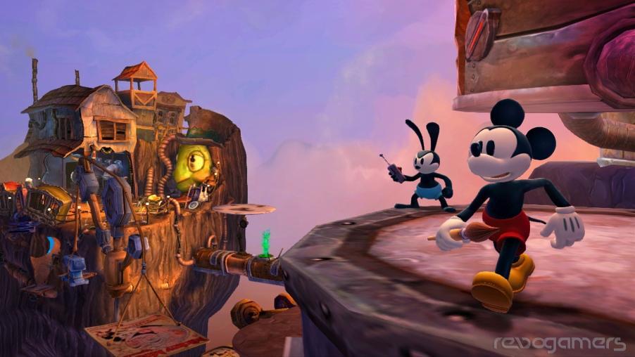 Disney Epic Mickey 2 El Retorno de Dos Héroes