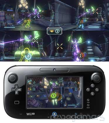 Metroid Blast Wii U Nintendo Land