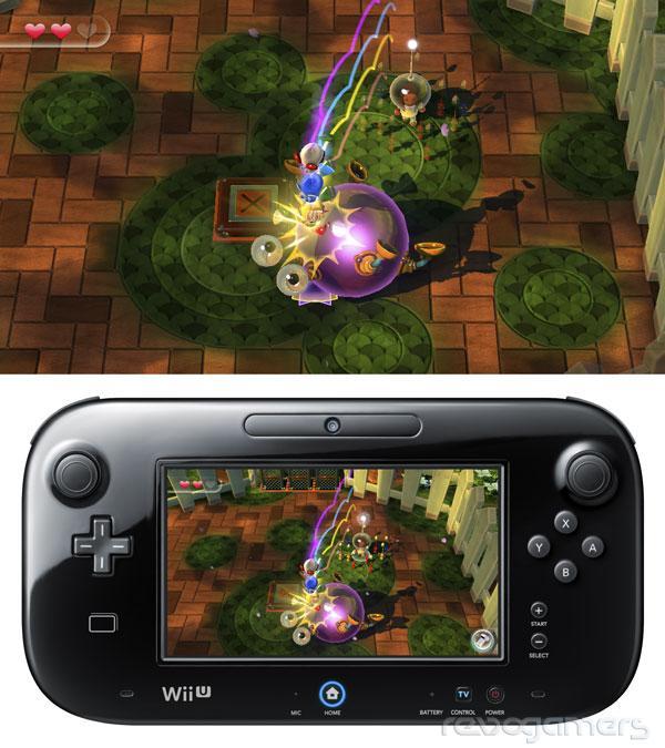 Avance Nintendo Land Pikmin Adventure