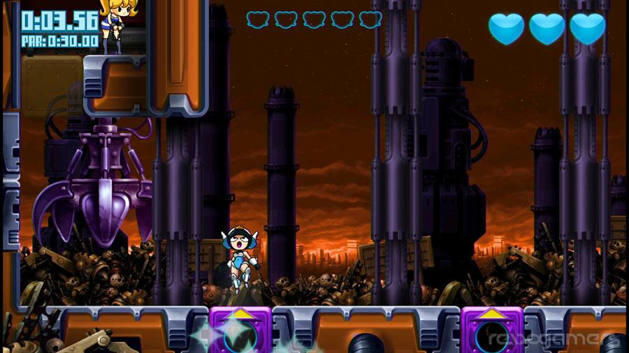 Mighty Switch Force HD review Wii U