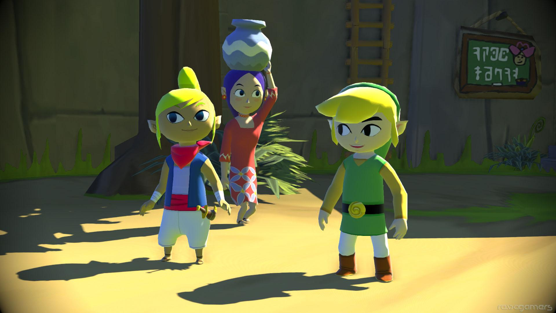 The Legend of Zelda The Wind Waker Wii U