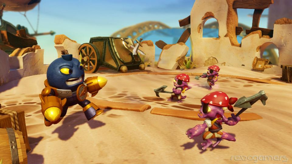 Impresiones Skylanders Swap Force
