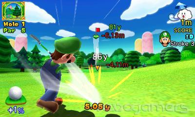 Impresiones Mario Golf World Tour Nintendo 3DS