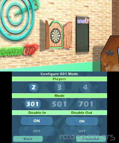 Darts Up 3D para Nintendo 3DS