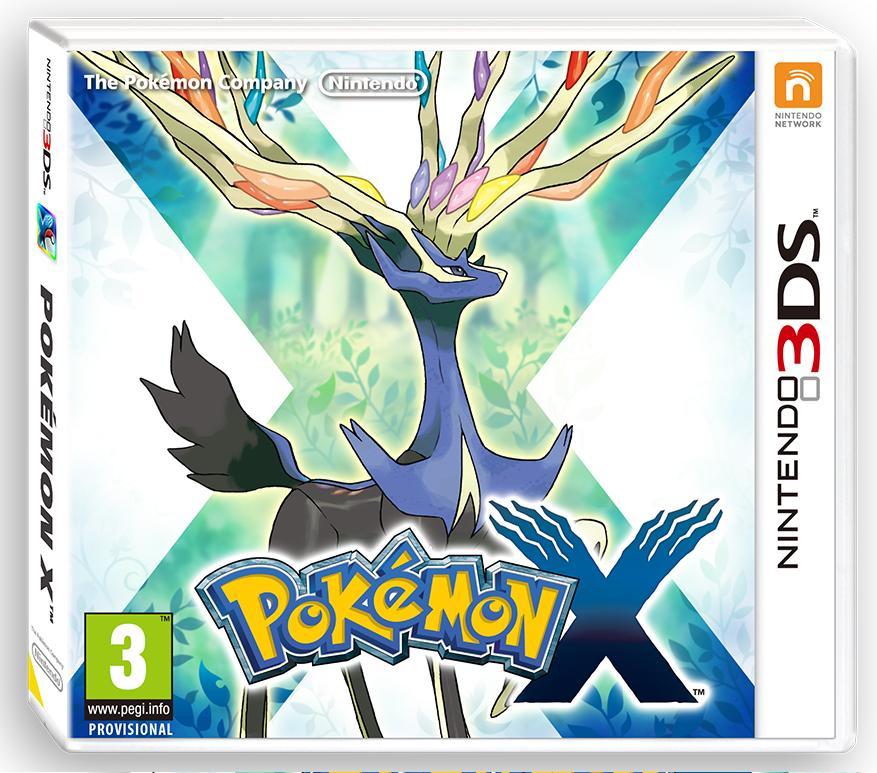 Box PAL Pokemon X Nintendo 3DS