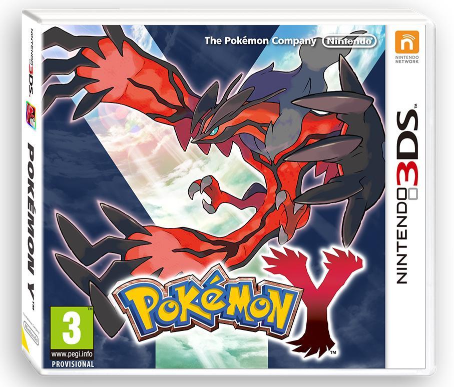 Box PAL Pokemon Y Nintendo 3DS