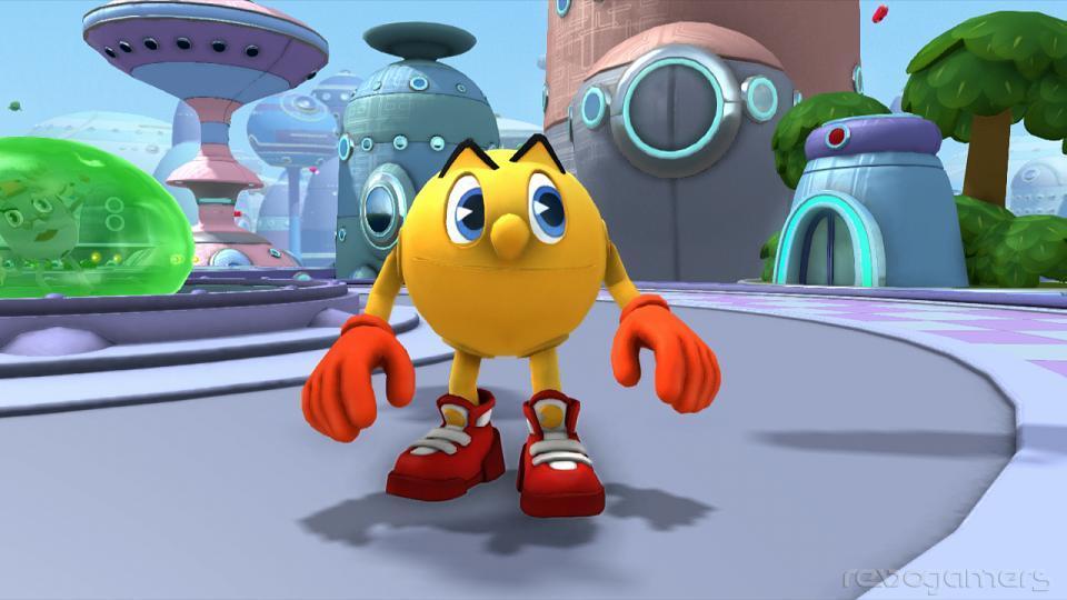 Impresiones Pac-Man Wii U