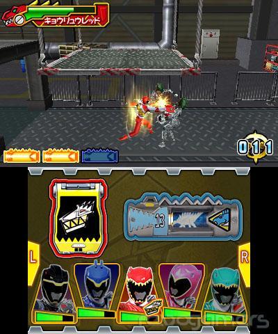 Impresiones Power Rangers Megaforce Nintendo 3DS