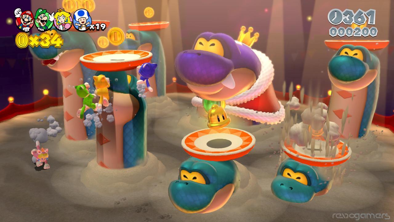 Super Mario 3D World E3 2013 Impresiones Revogamers