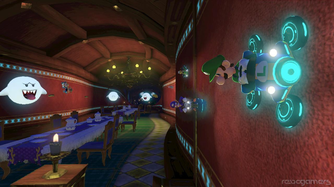 Concha azul en Mario Kart 8