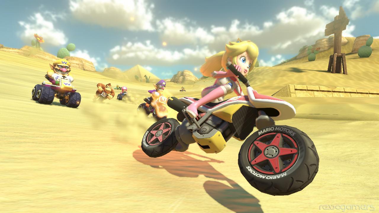 Impresiones Mario Kart 8