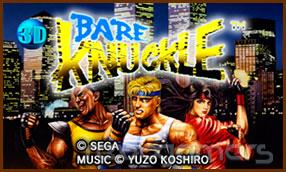 3d streets of rage para Nintendo 3DS