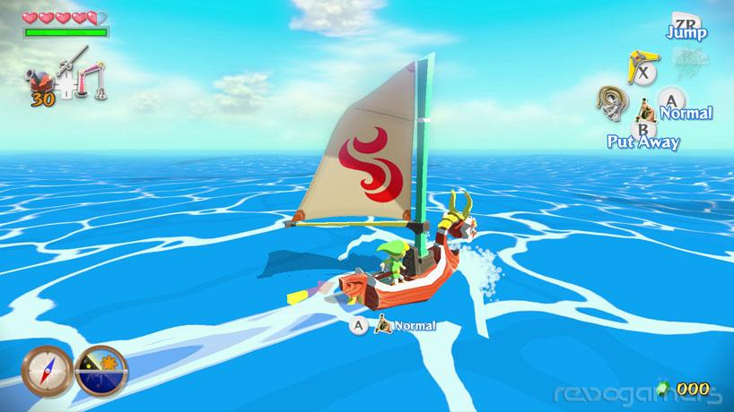 Primera persona en The Legend of Zelda: Wind Waker HD