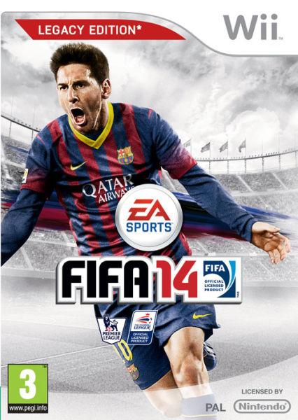 Fifa saca el mismo juego del 2012  en wii