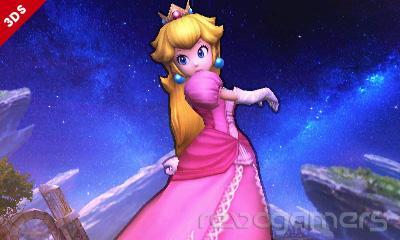 Peach Super Smash Bros. 3DS