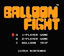 Balloon Fight Consola Virtual Wii U