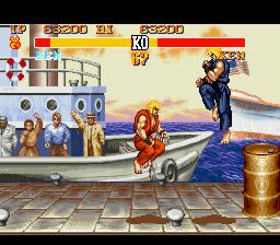 Personajes favoritos de Street Fighter